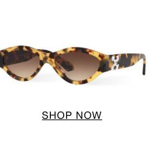 Off white Sunglass Hut smaller sunglasses